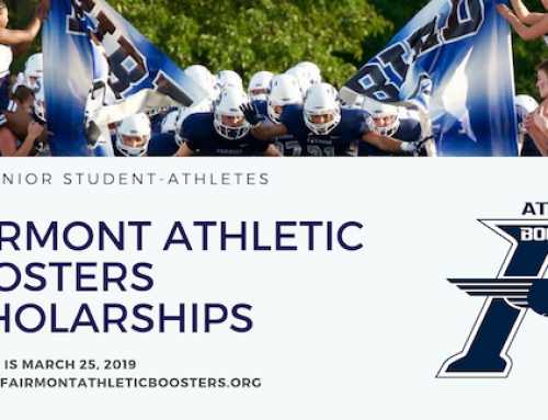 Fairmont Athletic Booster Scholarships Awarded